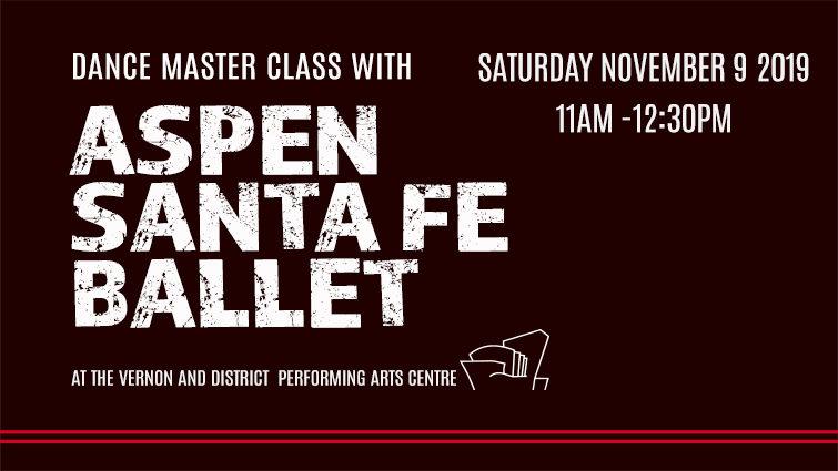 Master Class with Aspen Santa Fe Ballet